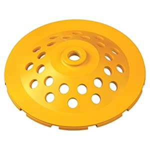 DEWALT DW4773 7-Inch Grinding Cup Wheel Heavy Material Removal