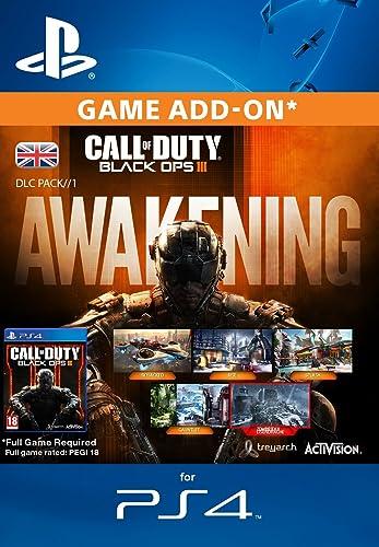 Call of Duty: Black Ops III - Awakening DLC [PS4 PSN Code - UK