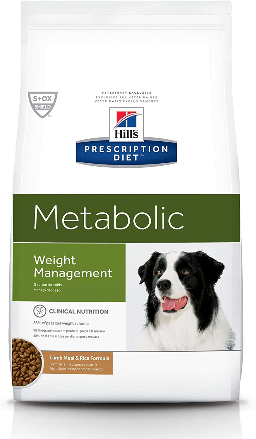 Hill's Prescription Diet Dry Dog Food, Veterinary Diet, Metabolic Weight Management