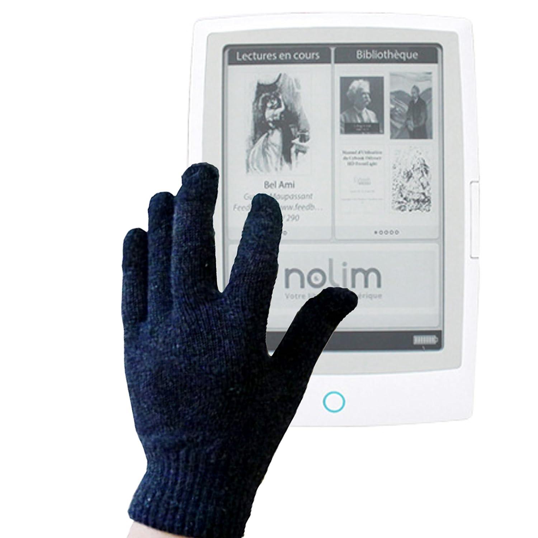 Par de guantes capacitivos conductores DURAGADGET talla M (medio ...