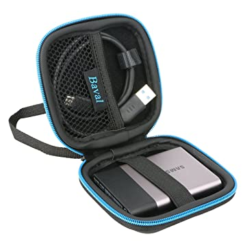 Amazon Com Baval Case Bag For Samsung T3 T5 Portable Ssd 1tb
