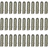 beetest 100pezzi ricambio metallo corda scarpa lacci herrete Testa acetatos punta