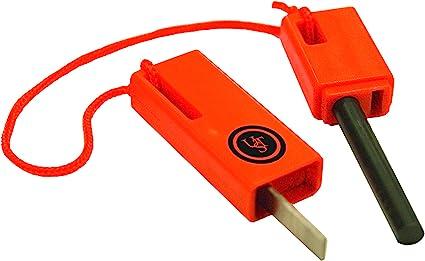 Ultimate Survival Technologies SparkForce Fire Starter Orange Striker 3-Pack