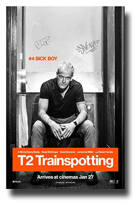 amazon com t2 trainspotting poster movie promo 11 x 17 inches sick