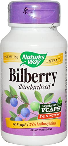 Nature s Way – Bilberry Std, 90 veggie caps