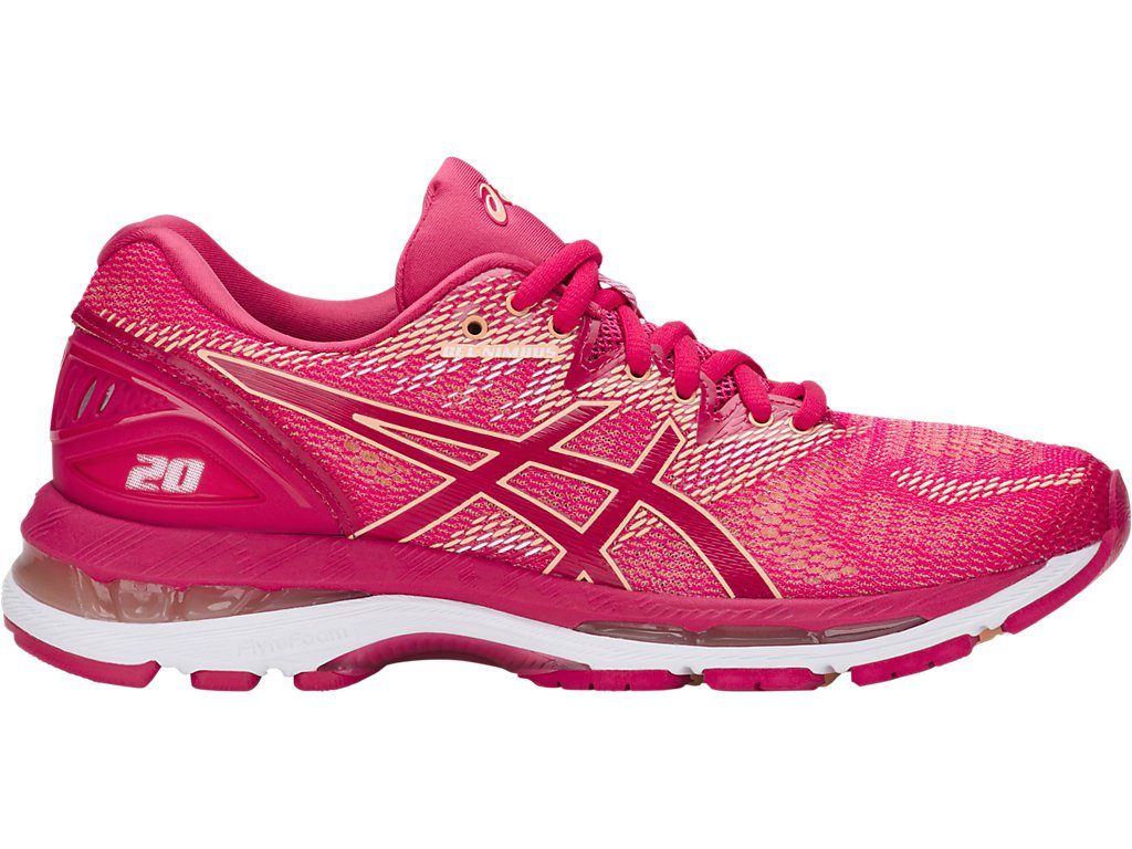 ASICS Women's Gel-Nimbus 20 Running Shoe B0711TSBFM 10.5 B(M) US|Bright Rose/Rose/Apricot