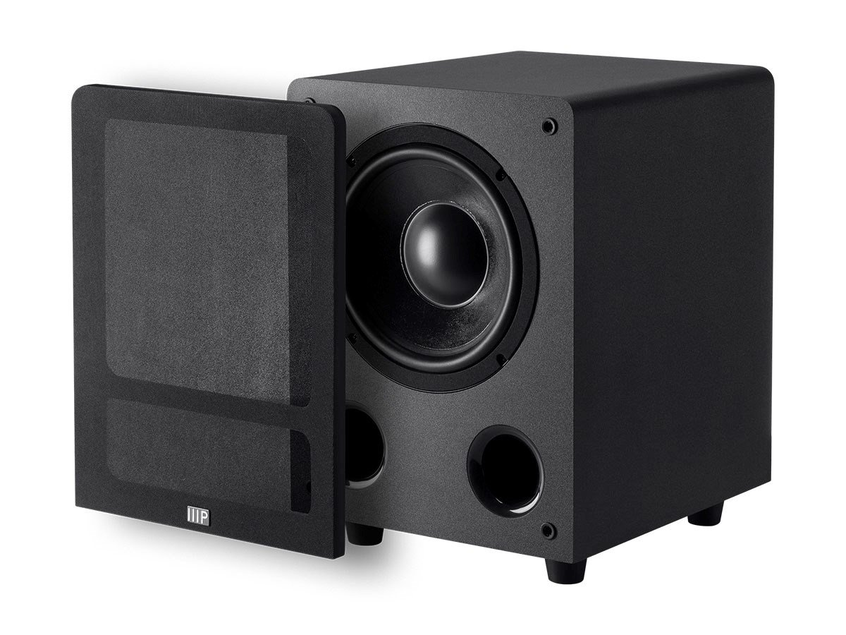 Monoprice Premium Select 8-inch 200-Watt Subwoofer (Black) 114567