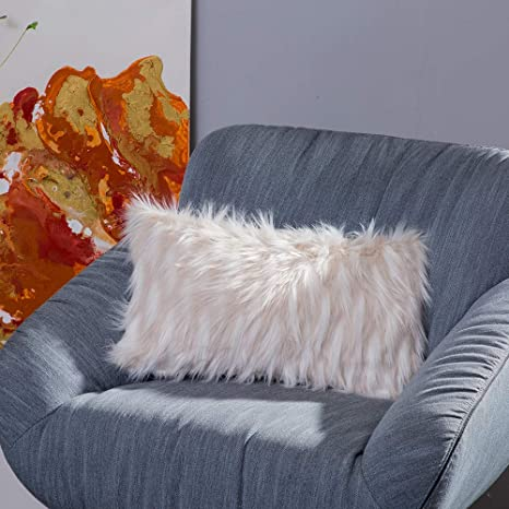 Amazon.com: Ojia Deluxe Home - Funda de cojín de peluche ...