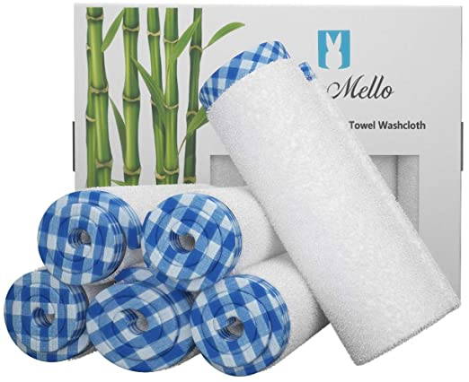 Blue Mello Ultra Soft Baby Washcloths