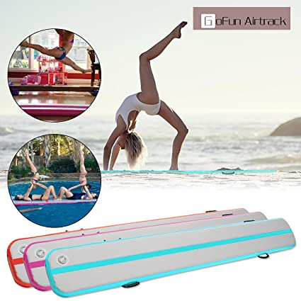Amazon.com : Winnerbe 118x16x6inch Inflatable Floating Yoga ...