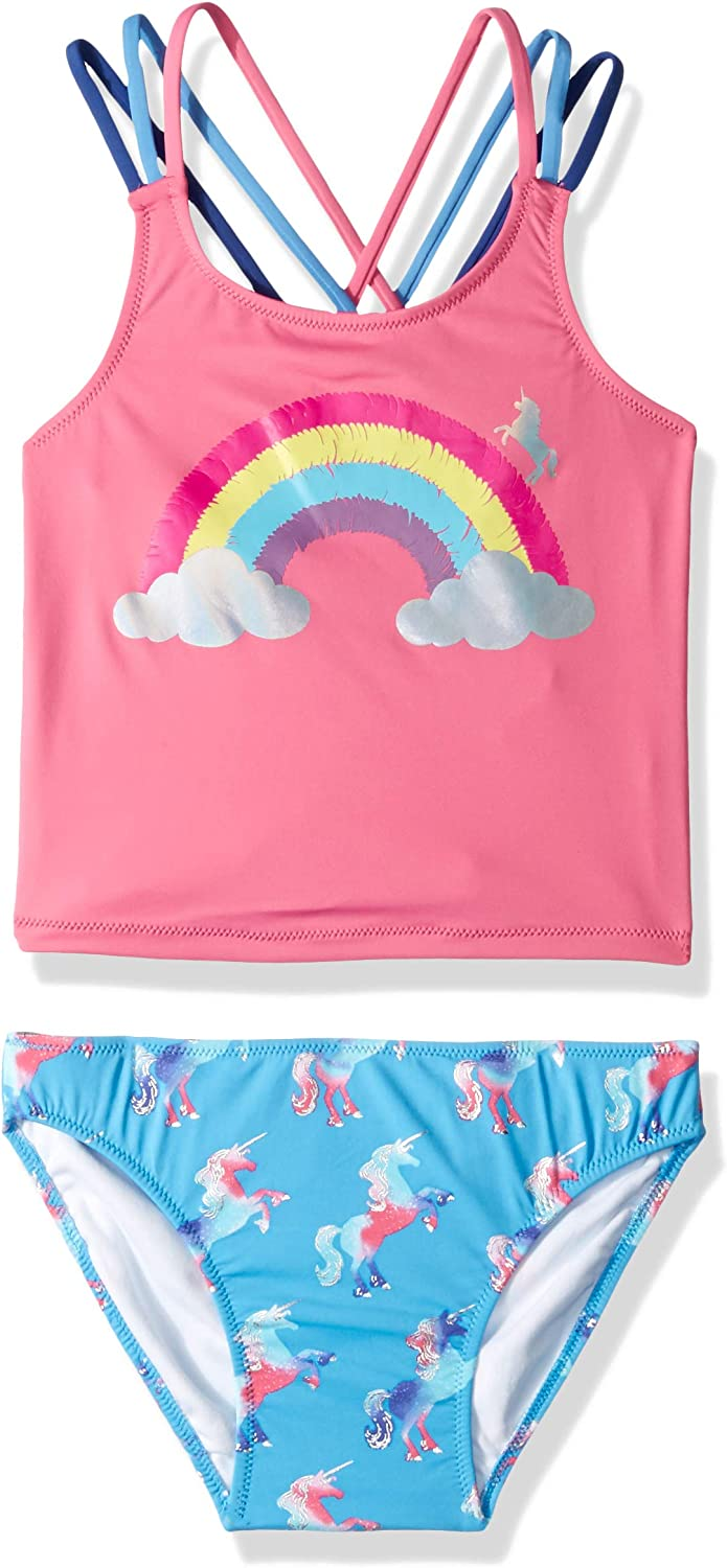 Hatley Girls Sporty Tankini Set