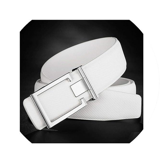 New Women/'s All White Belt Size Medium Brand New!