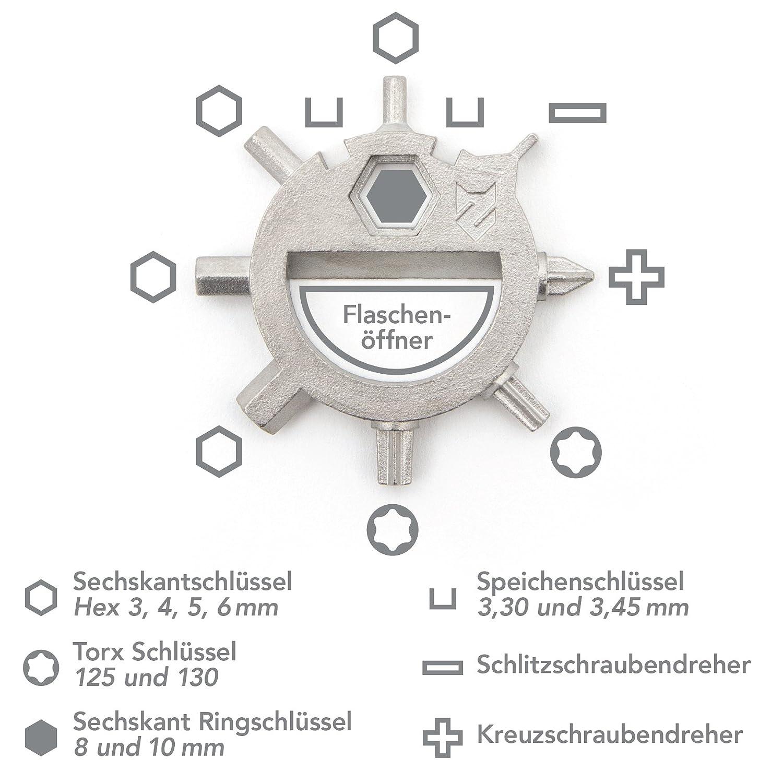 Multifunktionswerkzeug für den Schlüssel