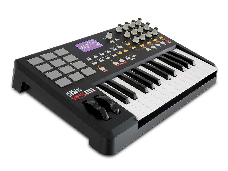 Amazon.com: Akai Professional MPK25 25-Key USB MIDI Keyboard ...