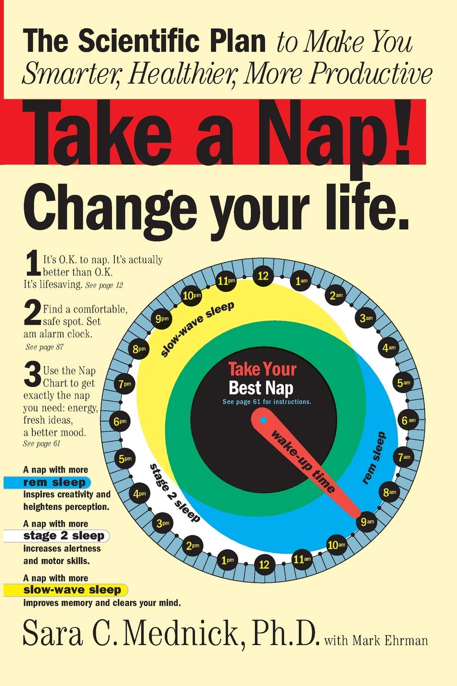 Take a Nap! Change Your Life: Amazon.es: Mednick, Sara, Ehrman ...