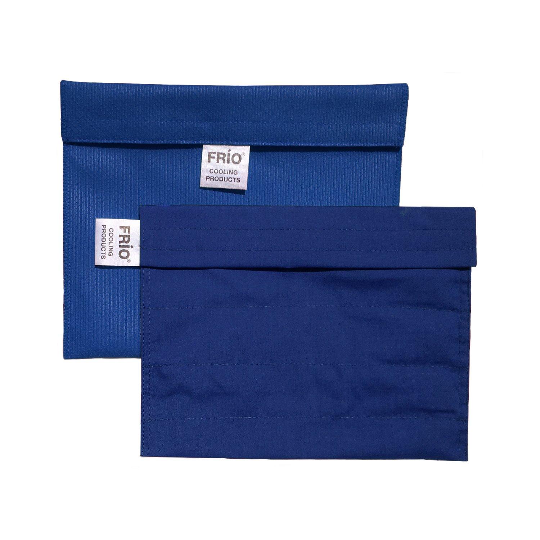 Frio Insulin Cooling Case, Reusable Evaporative Medication Cooler - Extra Large Wallet, Blue
