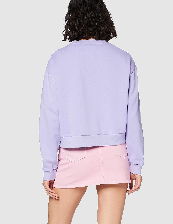 Pepe Jeans Damen Grace Sweatshirt Violett (433violet 433)