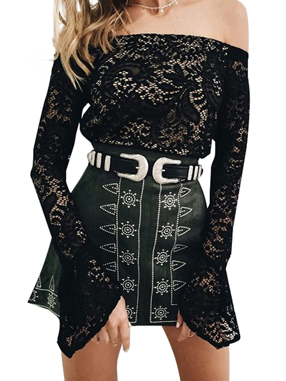 Berrygo Women's Vintage Waist Leather Belt Skinny Fashion