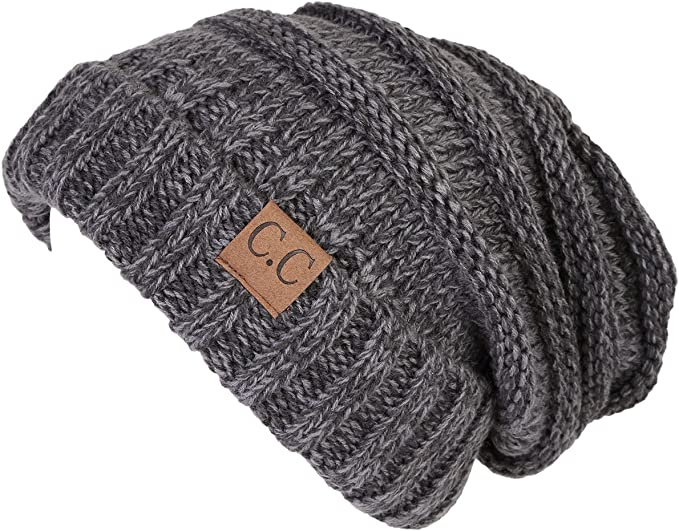 Funky Junque Oversized Beanie - Latte