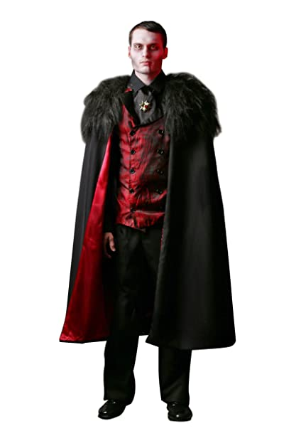 Amazon.com: Disfraz de vampiro para hombre, talla grande ...