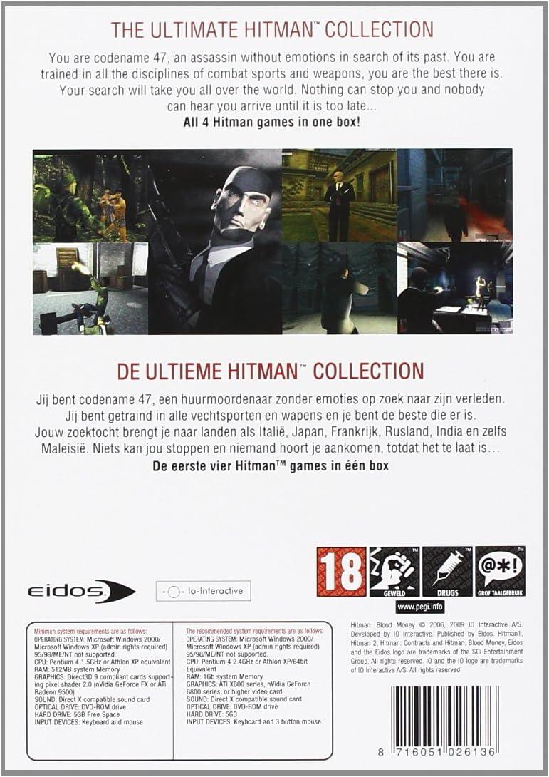 Amazon com: Hitman Collection: Video Games