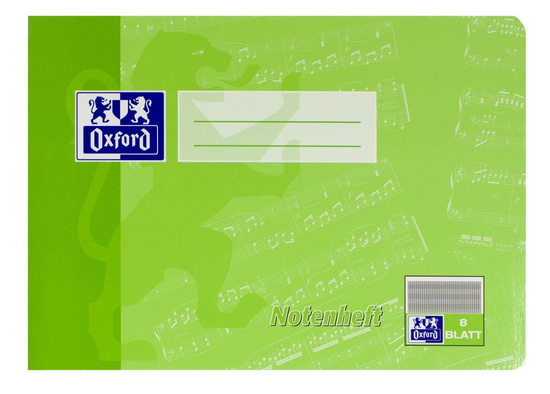 Clairefontaine DIN A4 Notenheft ohne Hilfslinien 8 Blatt