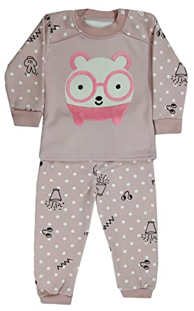 Miss U Baby Boys Baby Girls Kids High Quality Winter Wear Night Suit