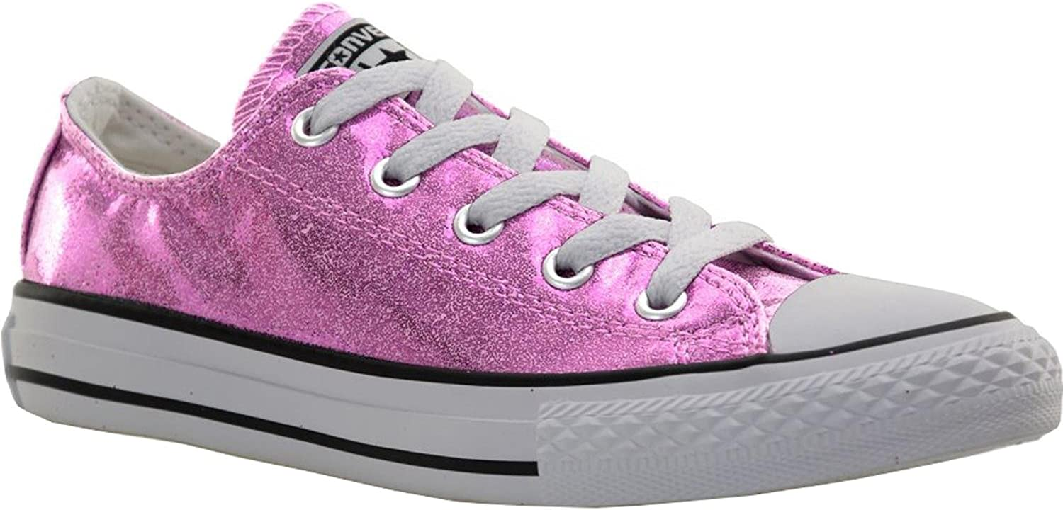 Star Pink Glitter Skater Shoes Low