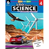 180 Days of Science: Grade 4 - Daily Science Workbook for Classroom and Home, Cool and Fun Interactive Practice…