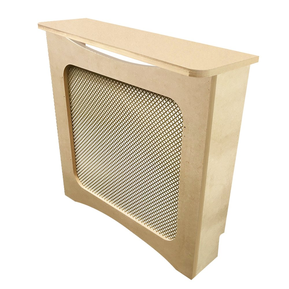 Unfinished MDF Radiator Heater Cover, 32''Tall x 36''Wide x 9'' Deep - CHOOSE YOUR SIZE - Model MD22