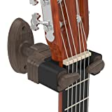 Guitar Wall Hanger Auto Lock / Wall Mount Display Rack Wood Grained for Electric Guitar Bass / Acoustic Guitar / Classic Guitar