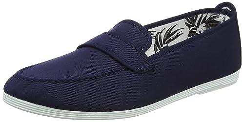 Flossy Hobby, Alpargatas para Hombre, Azul (Navy 001), 43 EU: Amazon.es: Zapatos y complementos