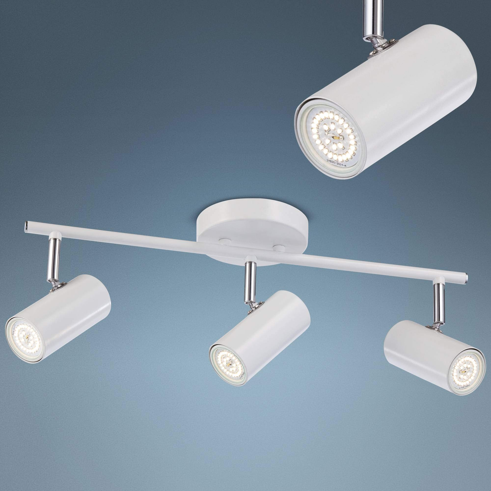 Galena 3-Light White LED Track Fixture - Pro Track