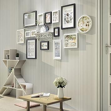 Amazon De Tang Chao Bilderrahmen Wand Mode Der Fotowandschwarzweiss