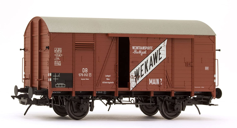 Lenz 42214-03 Gedeckter Güterwagen Bauart Gr20 WEKAWE