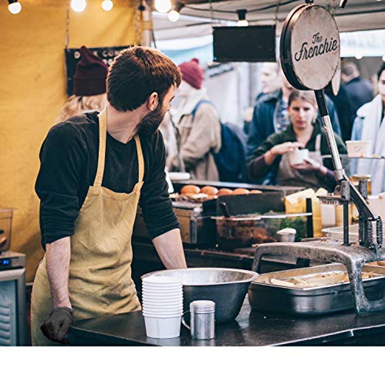Gants de Tatouage GUARD 5 Gants en Nitrile sans Poudre Gants de Cuisine Noirs 200 pi/èces de Gants jetables