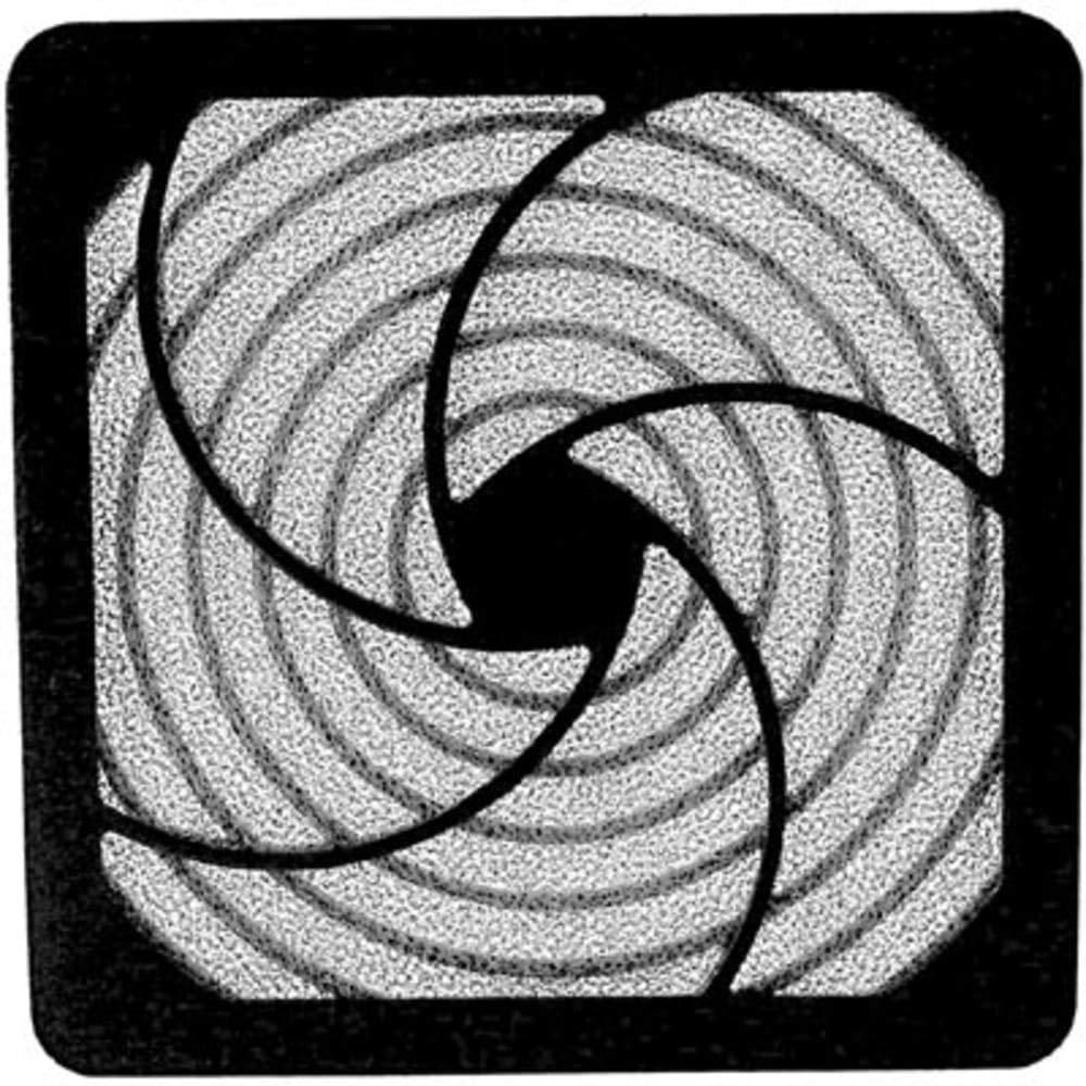 Filter; Fan; Foam Filter Media; 4-1frasl; 2 in. Tube Axial Fans; Plastic - Pack of 20