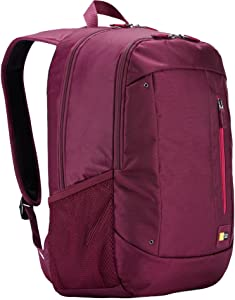 Case Logic WMBP-115 15.6-Inch Laptop and Tablet Backpack (Pomegrante)