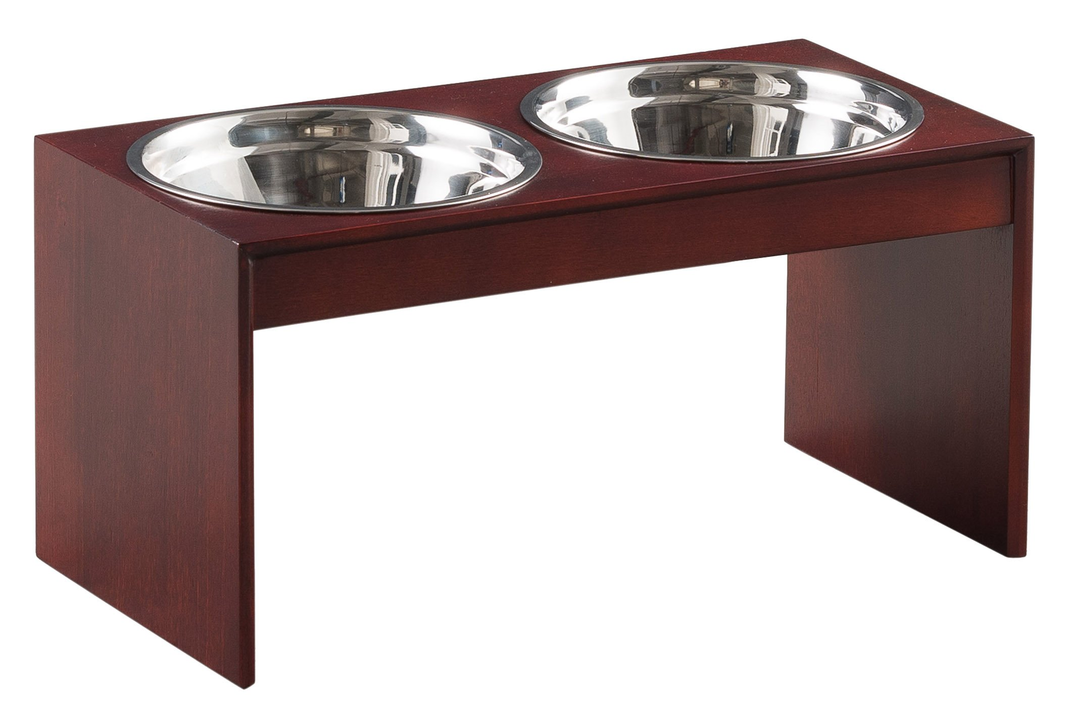 Ethan Pets Duke Wooden Pet Feeder, 10'' by Ethan Pets