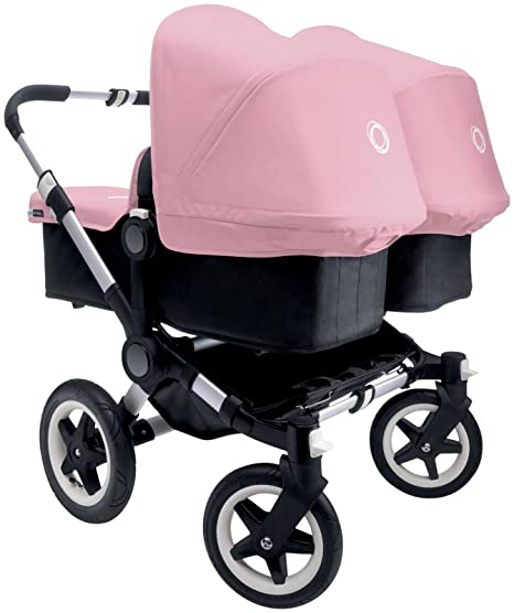 Bugaboo Donkey Complete Twin Stroller - Soft Pink - Aluminum ...