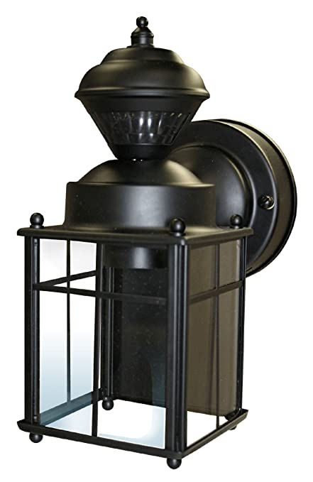 Heath Zenith Outdoor Lighting Heathzenith hz 4132 bk 150 degree bayside mission style motion heathzenith hz 4132 bk 150 degree bayside mission style motion sensing workwithnaturefo