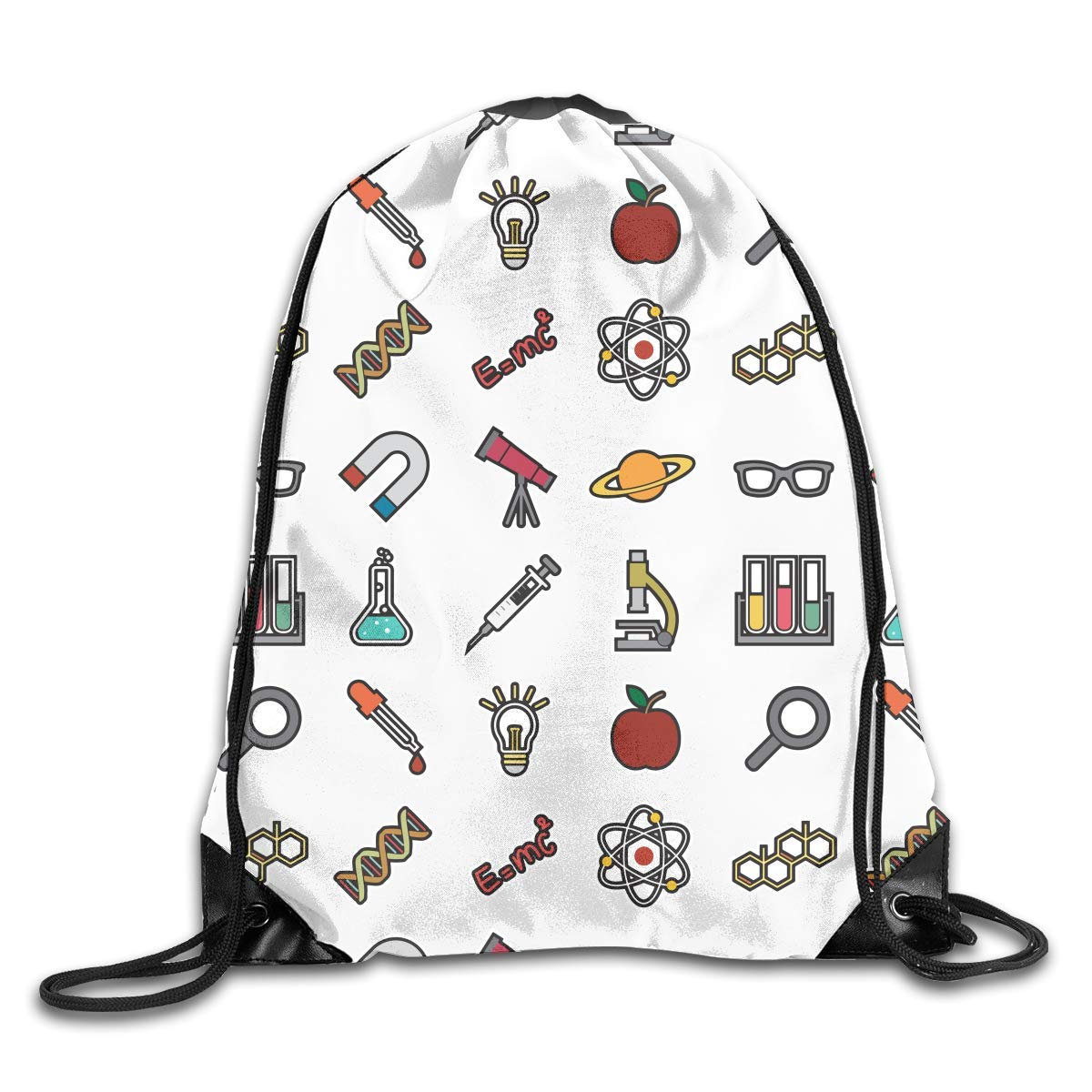 sd4r5y3hg Periodically Science Unisex Drawstring Backpack Shoulder Bags Lightweight Travel Rucksack 1FGI0LI9L2L7W8C5ATD2