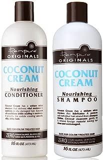 product image for Renpure Coconut Cream Nourishing Shampoo & Conditioner Set, 16 Fluid Ounce Ea