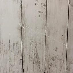 Amazon Co Jp 壁紙 厚手 Harmn Home 壁紙シール はがせる リメイクシート カッティングシート 木目 ふすま紙 アンティー ホワイト 45cm X 10m Diy 工具 ガーデン