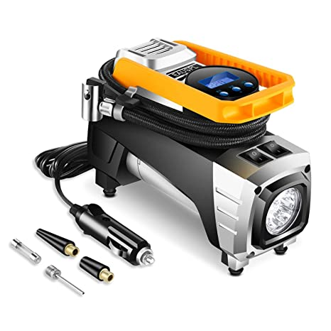 Amazon Com Auto Portable Air Compressor Tire Inflator Digital Air