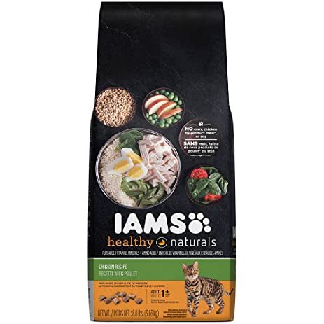 Amazon iams healthy naturals chicken recipe dry cat food 8 iams healthy naturals chicken recipe dry cat food 8 pounds forumfinder Images