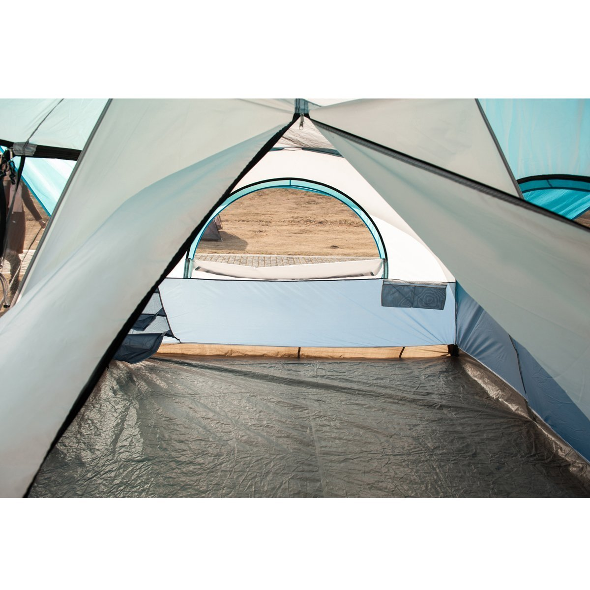Timber Ridge Large Family Tent for Camping with Carry Bag, 2 Rooms by Timber Ridge (Image #5)