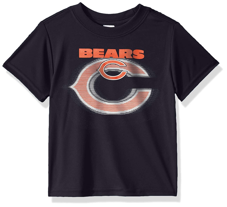 Team Color 18M NFL Chicago Bears Baby-Boys Short Sleeve Solid Logo Tee Shirt
