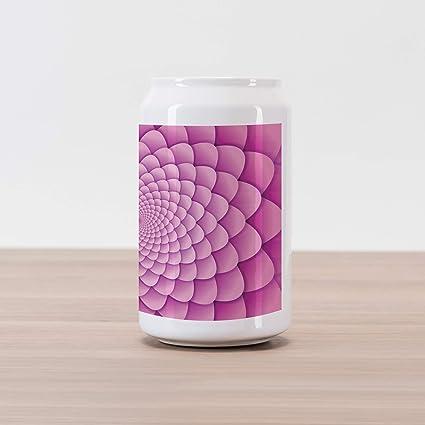 Amazoncom Ambesonne Pink Mandala Cola Can Shape Piggy Bank