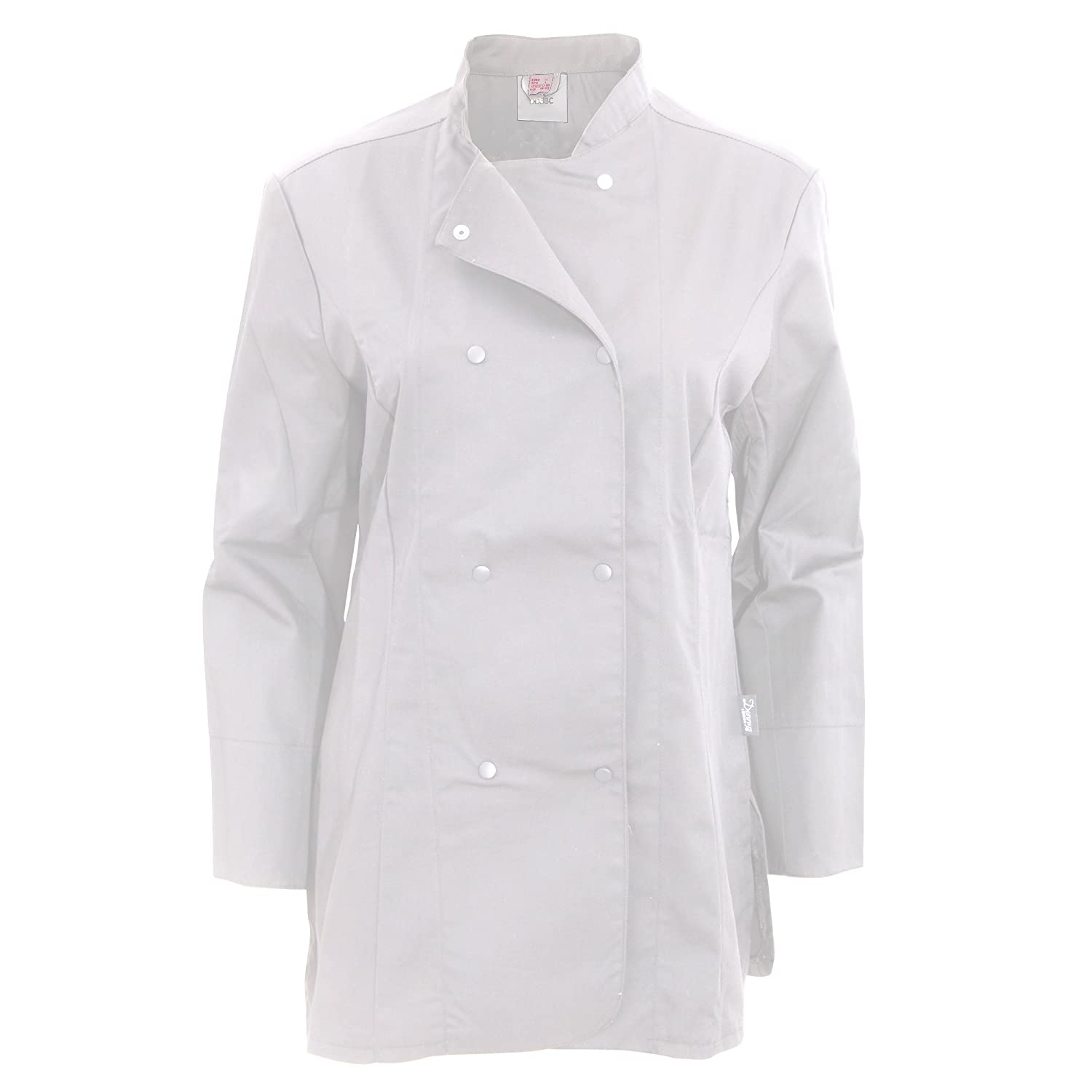Dennys Womens/Ladies Long Sleeve Fitted Chef Jacket